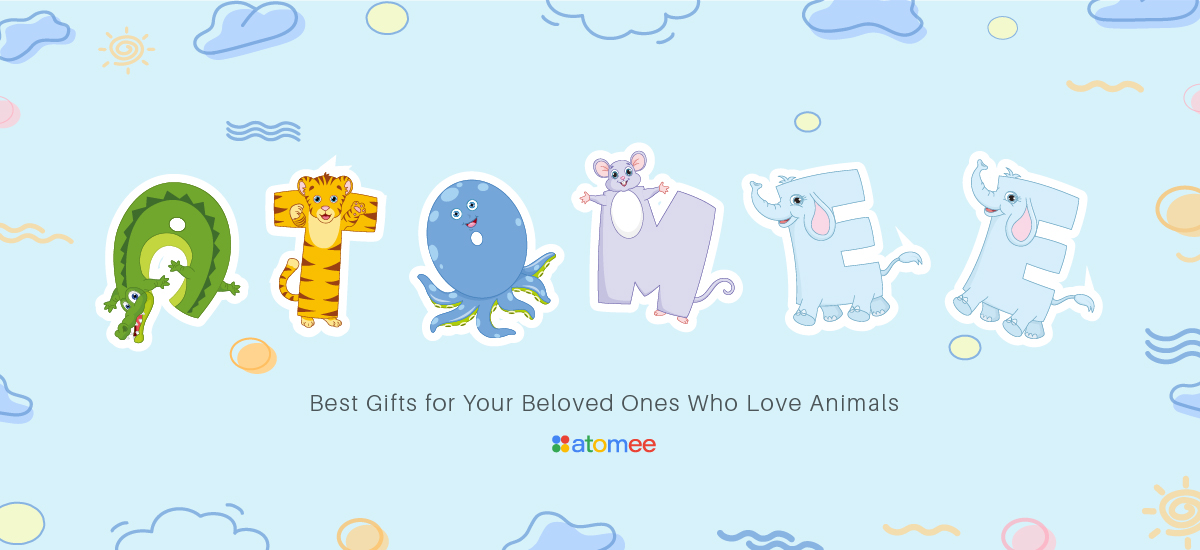 8 Best Gifts for Animal Lovers from atomee